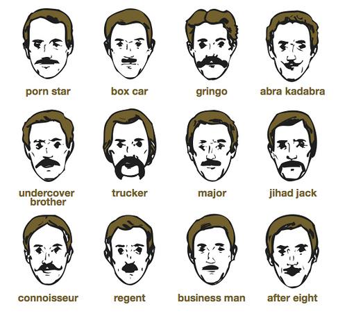 moustache photo montage